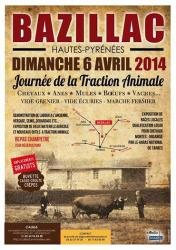 Affiche traction animale 2014 bazillac