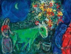 Marc chagall lane vert d5334982h